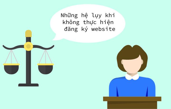 """""""ĐĂNG KÝ BỘ CÔNG THƯƠNG CHO WEBSITE"""" VẤN ĐỀ NHỎ HẬU QUẢ TO."""